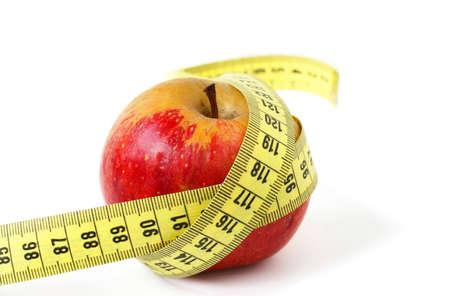 cintas metricas: Dieta  Foto de archivo