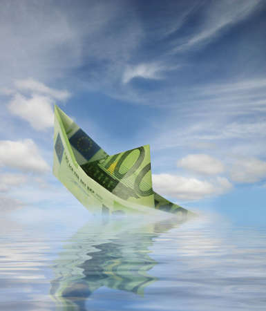 boat of money Stock Photo - 3030001
