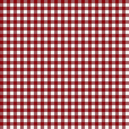Red little squares - fabric photo