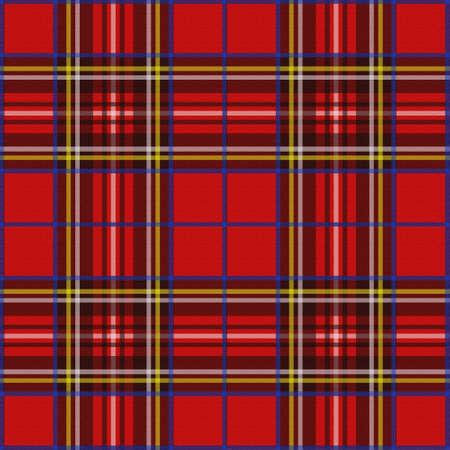 checks: Scottish plaid