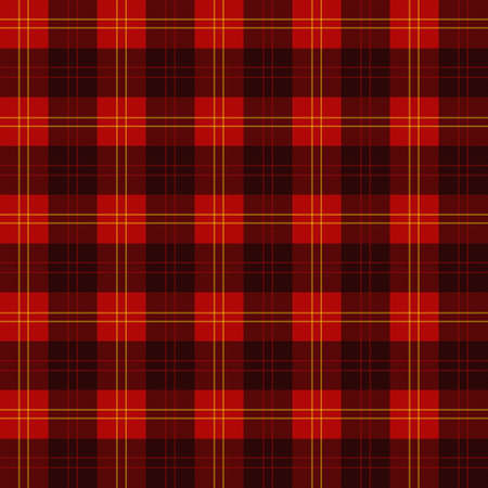 Scottish plaid photo