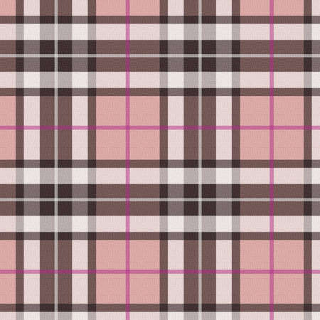 Plaid - pink Stock Photo