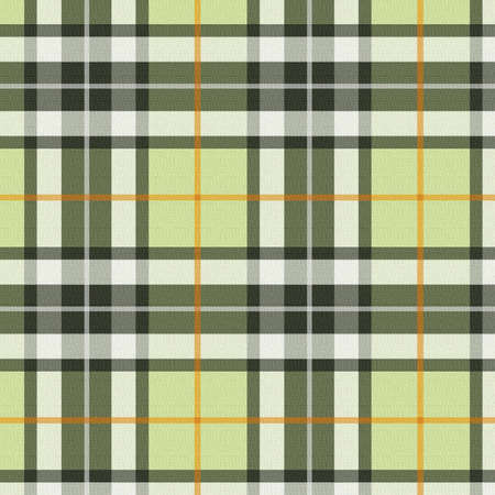 Plaid - green Stock Photo