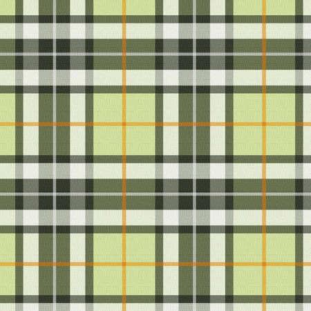 scottish: Plaid - green Stock Photo