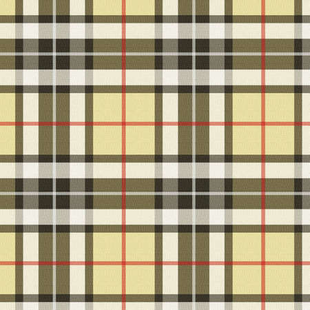 Plaid - beige