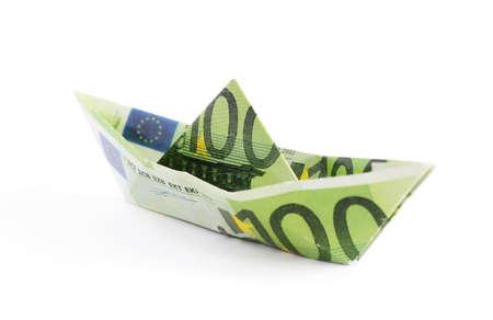 dinero euros: Dinero barco