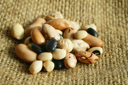 Assortment of beans photo