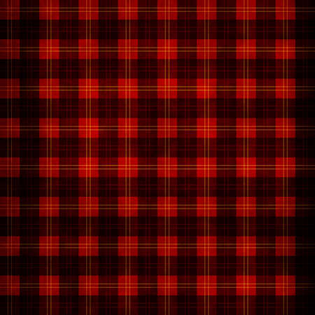 Red scottish plaid photo