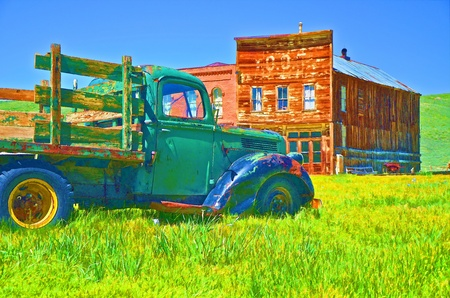 Old Ford Truck Stock Photo - 14061691