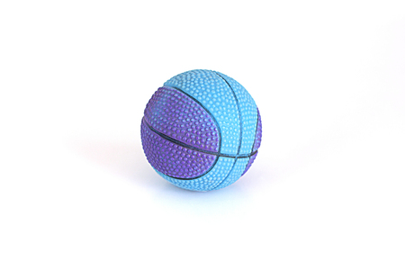 ball isolated: One ball toy on white background
