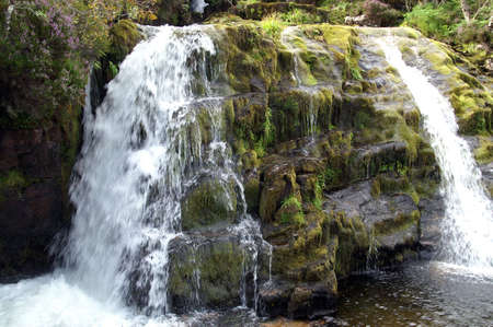 ness river: highland waterfall