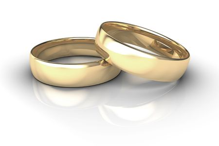 raytrace: Wedding rings