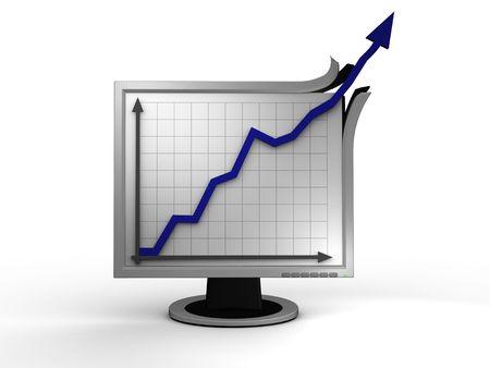 tft: Extreme business success Stock Photo