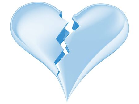 heartbreaking: Broken heart