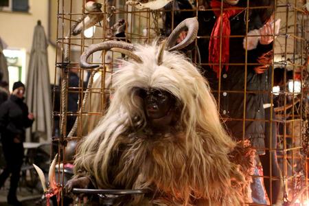 8   9 years: Krampus with white hair