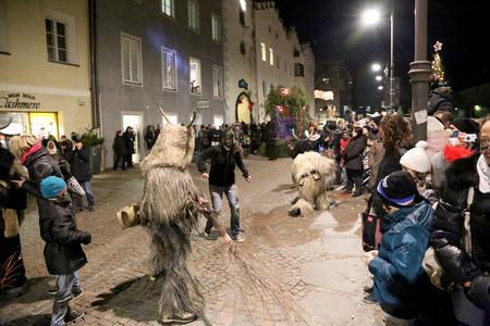 8   9 years: Krampus fighting in the street