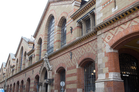 market hall: Grand Market Hall - Budapest