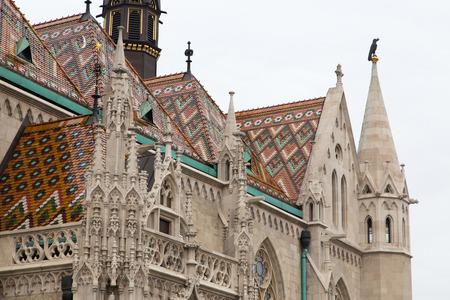 matthias: Matthias Church roof