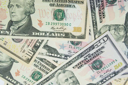 lots of dollars  - may be used as background photo