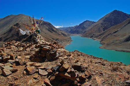 Mani Stone and Lake photo