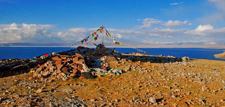 mani: Lake Namtso and Mani Stone