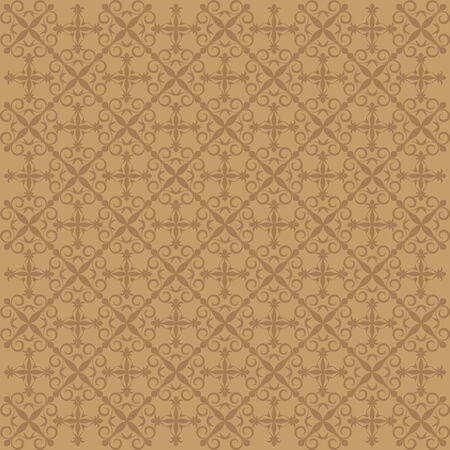 monocrome pattern background with organic ornaments. Vector