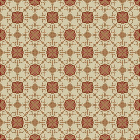 pattern background with organic ornaments. Illustration