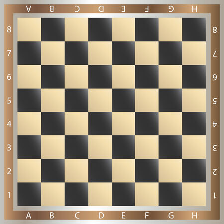 table of chess,   illustration Vector