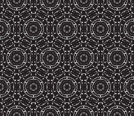 seamless ornamental pattern, illustration