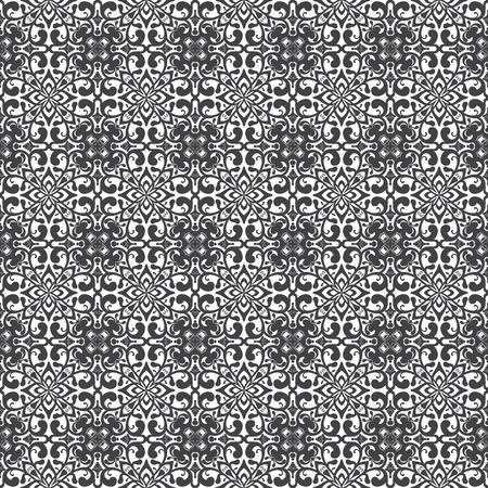 Seamless Damask pattern.   Vector illustration. Stock Illustration - 9534758