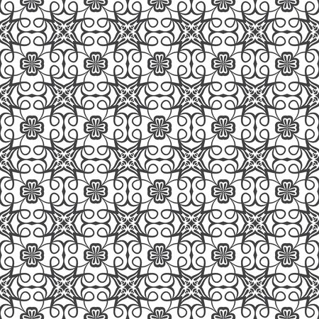 Seamless Damask pattern. | Vector illustration. Stock Illustration - 9534761