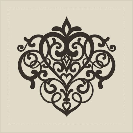 victorian: Design element for decorations   Vector illustration