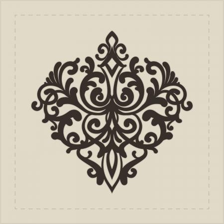 element for design: Design element for decorations  Illustration
