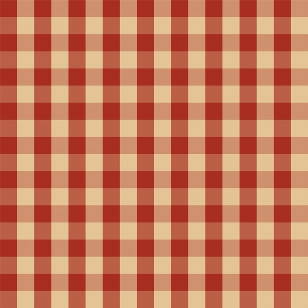 on the tablecloth: Checkered picnic tablecloth  Seamless pattern