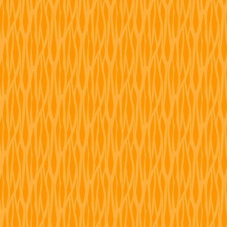 Seamless pattern with abstract shapes in shades of orange.
