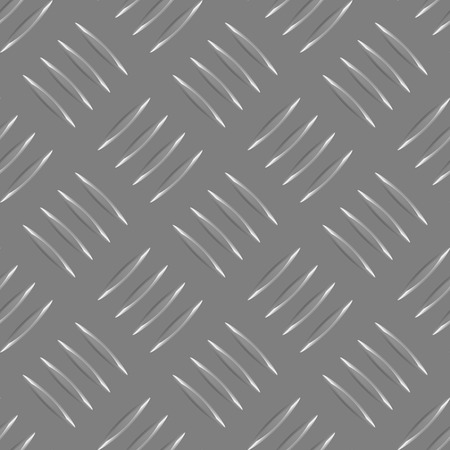 repeated gray metal pattern with many metalic elements Vector