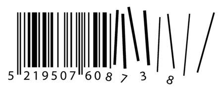 ean: broken ean code, qr code containing important information