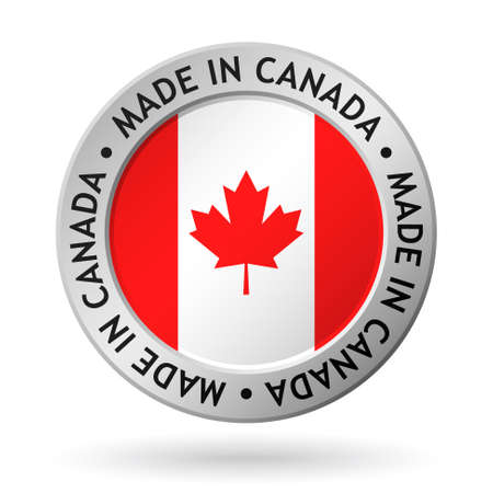 vector made in canada sign