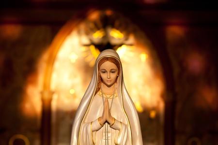 respectable: Virgin Mary Stock Photo