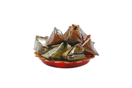 ancestry: Candy in Ghost Festival on white background Stock Photo