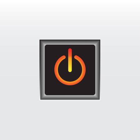 illustrators: Orange on button