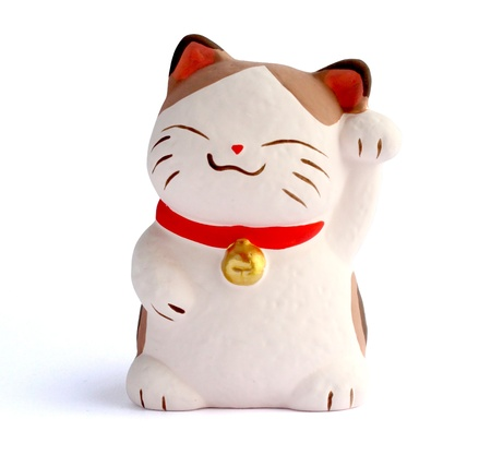 lucky: Japanese Lucky Cat; Maneki Neko