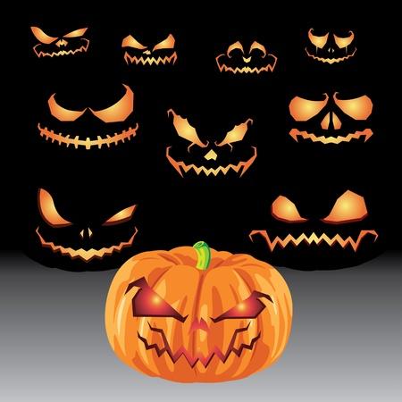Halloween Sets Vector