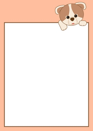 Cartoon Frame Border Vector
