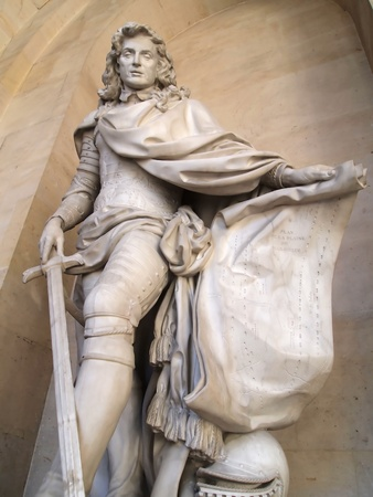 A Statue of King in Versailles castle , France , Europe Stock Photo - 9113576