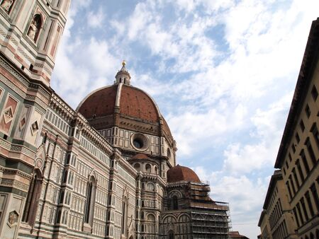 The dome of the Florence Duomo with blue sky (Florence, Italy) Europe photo