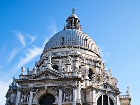 The Basilica Santa Maria della Salute in Venice, Italy  photo