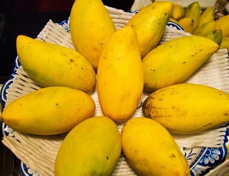 The mango is a fleshy stone fruit belonging to the genus Mangifera.