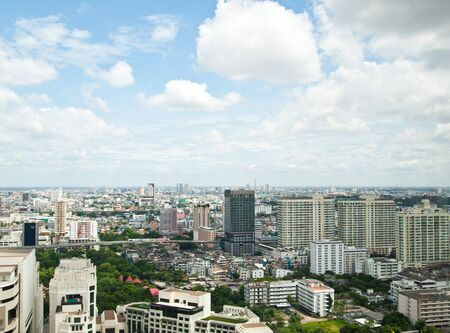 Cityscape of Bangkok city in the afternoon , Thailand,SE Asia Stock Photo - 10416982