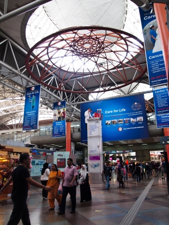 newest: Inside of KL Sentral the newest commercial hub in Kuala Lumpur, Malaysia  Editorial